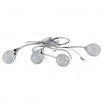 """Plafonnier """" ORLEAN"""" 4xE14 Sans Ampoule [ALF-20384]  - Couleur Sans ampoule/voir accessoires"""