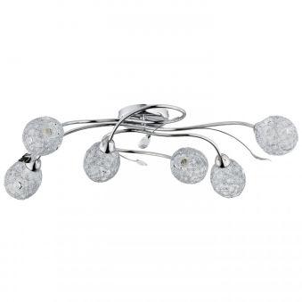 """Plafonnier """" ORLEAN"""" 6xE14 Sans Ampoule [ALF-20386]  - Couleur Sans ampoule/voir accessoires"""