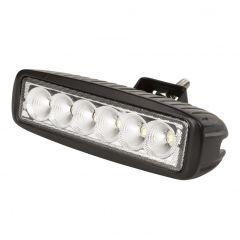 Barre LED Pour Voitures Et Bateaux 18W 9-33VDC IP68  - Couleur Blanc froid