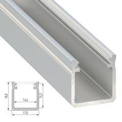 Profil AluminiumType Y 2,02M  - Finition Laqué Blanc