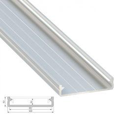 Profil Aluminium SOLIS  2,02M  - Finition Brut