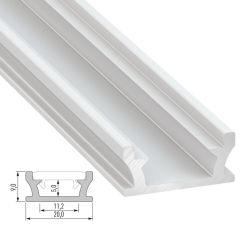 Profil Aluminium TERRA-AnodiséArgent-2,02M  - Finition Argent Anodisé
