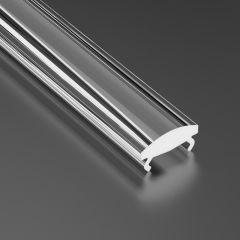 Lentille de diffuseur mince 15 - Profil  X,MICO 2,02M  - Difusor Transparent