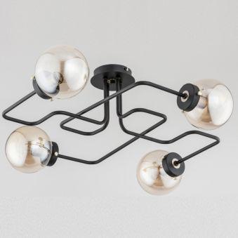"""Plafonnier """" GRAP """" 4xE14 Sans Ampoule [ALF-24774]  - Couleur Sans ampoule/voir accessoires"""