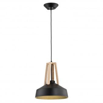 """Lampe À Suspension """"Drop"""" [ALF-60284]  - Finition Noir"""