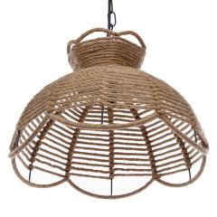 Lampe Suspendue Chanvre 1xE27 (Sans Ampoules)  - Couleur Sans ampoule/voir accessoires