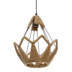 Lampe Suspendue Rose 1xE27 (Sans Ampoules)Noir  - Couleur Sans ampoule/voir accessoires