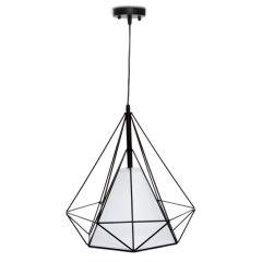 Lampe Suspendue Dimen 1xE27 (Sans Ampoules)Noir  - Couleur Sans ampoule/voir accessoires