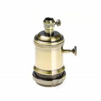 [AM-AH006] Soutien De Lampee E27 - Commutateur Rotatif