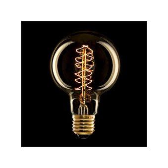 Ampoule Vintage Egloo Vórtice E27 G80 25W  - Couleur Blanc chaud