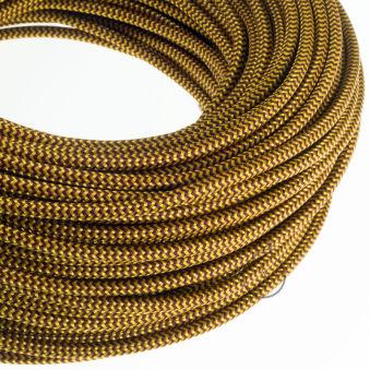 [AM-AX309]Câble Textile Rond x1M