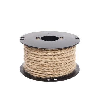 Câble TresséJute 2X0,75  x 1M