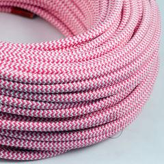 [AM-AX515]Câble Textile Rond x1M