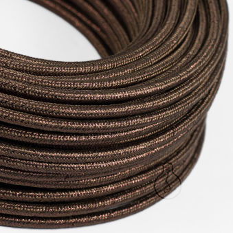 [AM-AX546]Câble Textile Rond x1M