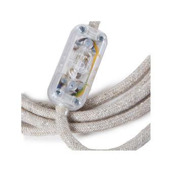 Lampe DeTable Pipes Vieillies Interrupteur Au Pied