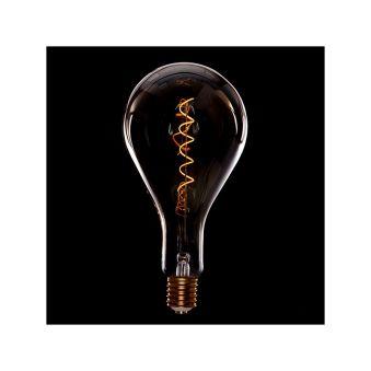 Ampoule Vintage LED Dimmable Ps160 Broadway Vortice 4W E27 Verre Ambré  - Couleur Blanc chaud