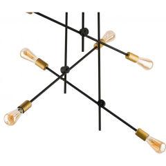 """Plafonnier """"Axis"""" 6xE27 Sans Ampoule [MIM-9297]"""