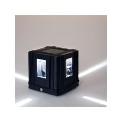 Applique Murale LED IP65 Cross 4W 300Lm 30.000H Madelyn  - Couleur Blanc chaud