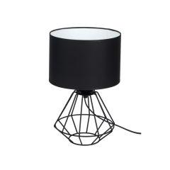 """Lampe deTable """"Colin""""  1xE27 Métal_Textile Sans Ampoule [MLP-4792]"""