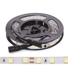 Bande De LED SMD5054 12VDC 10Mm X 5M 60Xm 1380Lm/M IP20  - Couleur Blanc froid