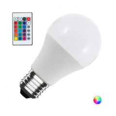 Ampoule LED RGB + W E27 10W Télécommande