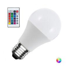 Ampoule À LED RGB 10W E27 Sphérique Télécommande  - Couleur RVB