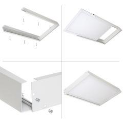 Cadre De Montage Monté En Surface Panneau LED 60X30Cm