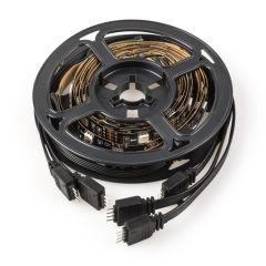 Kit Bande De Led USB TV 5VDC 4 x 0,5M RGB Mando DisBronzercia [CA-TL-USB-RGB]  - Couleur RVB