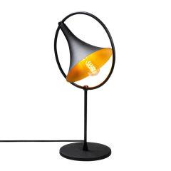 "Lampe DeTable ""Namutenahi""Noir/Or 1 x E 27 Sans Ampoule [OPV-521SHN1127]"