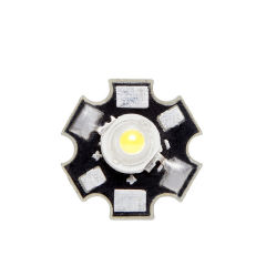 LED Haute Puissance 45X45 con Dissipateur De Chaleur 3W 220Lm 50.000H  - Couleur Blanc chaud