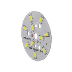 Module 10 LEDs Ø50Mm 5W 500Lm 50.000H  - Couleur Blanc chaud