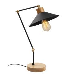 """Lampe DeTable """"Manavgat""""Noir 1 x E 27 Sans Ampoule [OPV-525NOR2120]"""