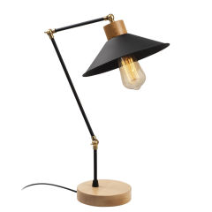 "Lampe de table ""Huanggang"" [OPV-525NOR2120]  - Finition Noir"