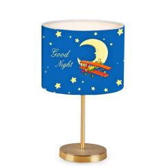 """Lampe de table """"Insignio"""" PVC / Métal Multicolore 1xE27 Sans Ampoule [OPV-780SGN1927]"""