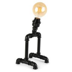 """Lampe de table """"Insignio"""" Tube en fer noir 1xE27 sans ampoule [OPV-780SGN2517]"""