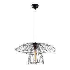 """Lampe Suspendue """"Tel - 6504""""Noir 1xE27 Sans Ampoule [OPV-892OPV1844]"""