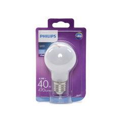 Ampoule LED Philips E27 A60 4,5W 470Lm Blanc Froid  - Couleur Blanc froid