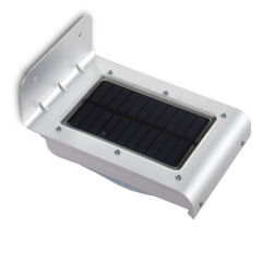 Applique Murale LedSolaire IP65 16x2835SMD SensorLumière+ Mouvement  - Couleur Blanc froid