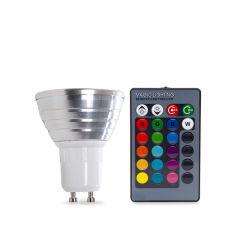Ampoule À LED RGB 3W GU10 Télécommande  - Couleur RVB