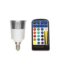 Ampoule À LED RGB 5W E14 Télécommande  - Couleur RVB