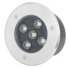 Projecteur LED IP67 Encastré 5W 475Lm 30.000H Molly  - Couleur Blanc chaud