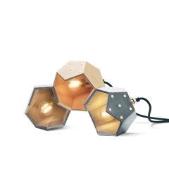 """Lampe De Table """"Basic Twelve Trio"""" [PLA-LA-BA-T04]"""