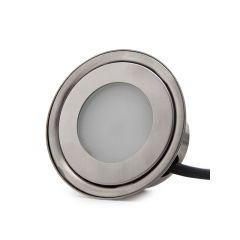 Projecteur LED Encastré IP67 0,7W RGB 12VDCCâble 1M/EctorMâle 50.000H Sara  - Couleur RVB