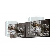 [SCH-391870] Applique FlCendre 2xG9 Avec Ampoule Blanc Chaud  - Couleur Blanc chaud