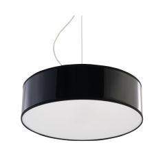 """Lampe à suspension """"Le Sable"""" [SOL-SL.0115]  - Finition Noir"""