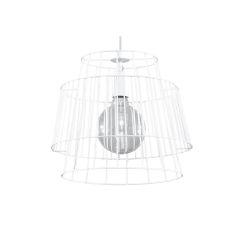 """Lampe à suspension """"Gate"""" [SOL-SL.0662]  - Finition Noir"""