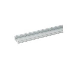 Paquet de 2 Profil En Aluminium Pour LEDs ? Diffuseur Opal ? Ruban De 2 Mètres