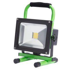 Projecteur LED IP65 Batterie Rechargeable 20W 2000Lm 30.000H  - Couleur Blanc Neutre