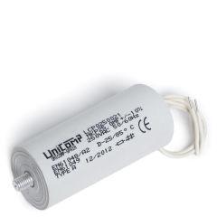 Condensateur 25 Uf 250Vac 10% 50/60HzCâbles 200mm