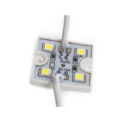 Module 4 LEDs SMD3528 0,6W  - Couleur Vert